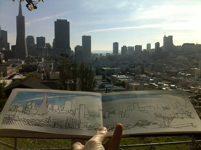 sketching the city