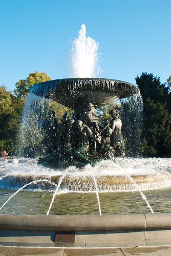 """Die Skulptur von """"Stille Wasser"""""""