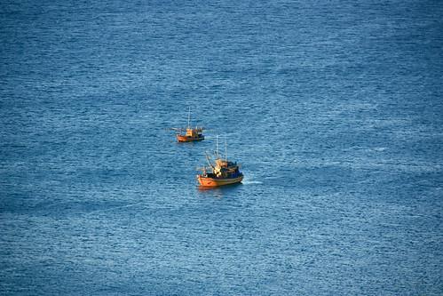 Boats @Sunrise by vishangshah