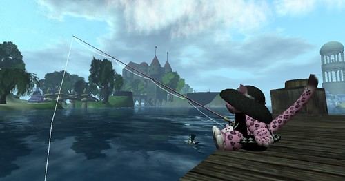 Aev's Gone Fishing...as a tiny