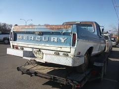 1968 Mercury Ranger truck rear