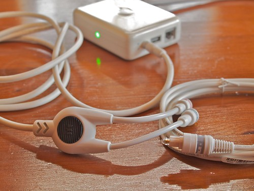 AirMac Express Stereo Connection Kit With Monster Cables