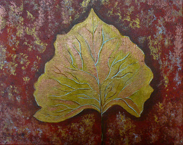 Cottonwood Leaf