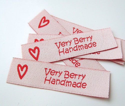 Very Berry Product labels