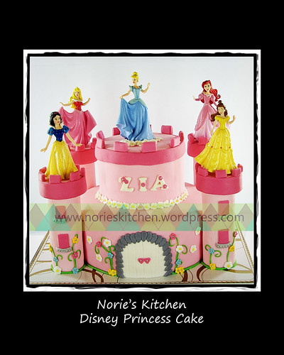 Norie's Kitchen - Disney Princess Cake by Norie's Kitchen
