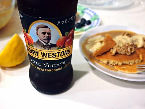 Pancake Day Henry Westons 2010 Vintage Cider