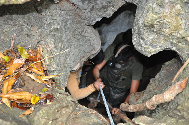 Spelunking in Aba-Aba Cave