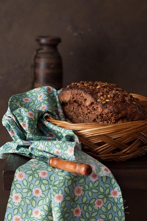 Pumpkin seeds bread 1