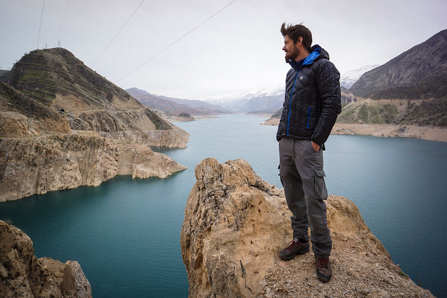 Leon at Karun 3 Lake