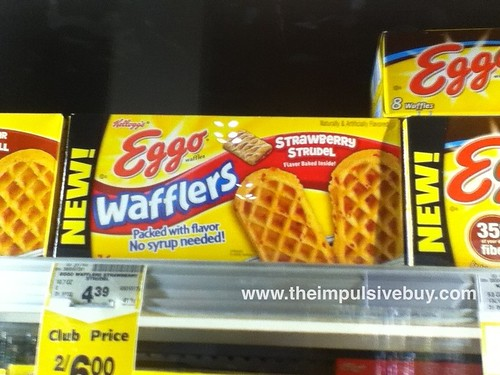 Eggo Wafflers on shelf