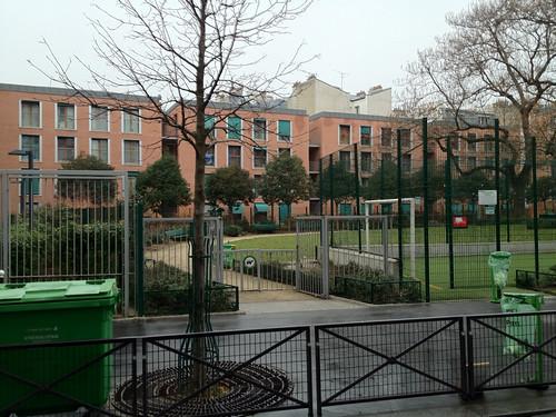 Housing, Paris — Passage du Nord
