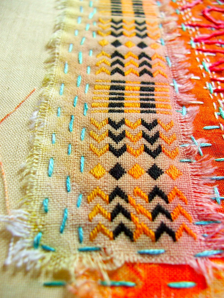 Tast Week 10: Running Stitch