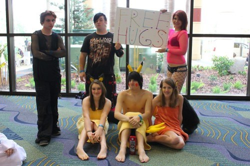 Free Hugs - MegaCon 2012
