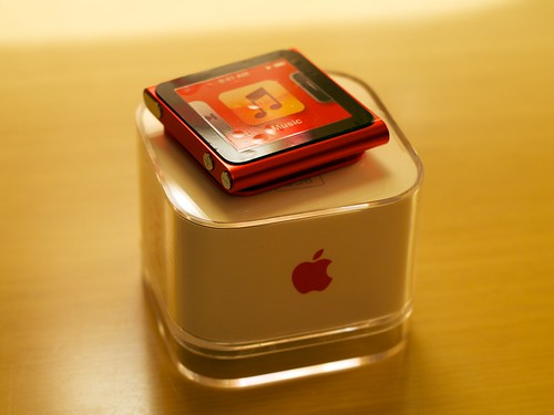 6th Generation iPod nano 8GB (PRODUCT) RED