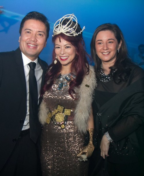 Unilever-RFM Chairman and Managing Director John Concepcion, Tessa Prieto-Valdes and Peachy Concepcion