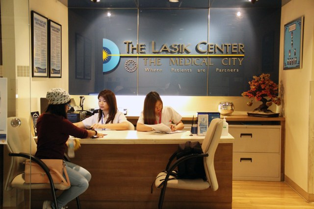 Lasik Screening - The Lasik Center - The Medical City