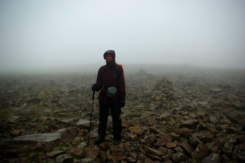 20110924-09_Leaving Scafell Pike in the Mist by gary.hadden