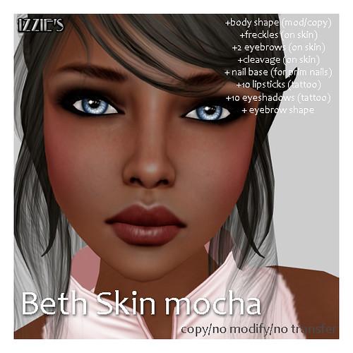 Beth Skin mocha