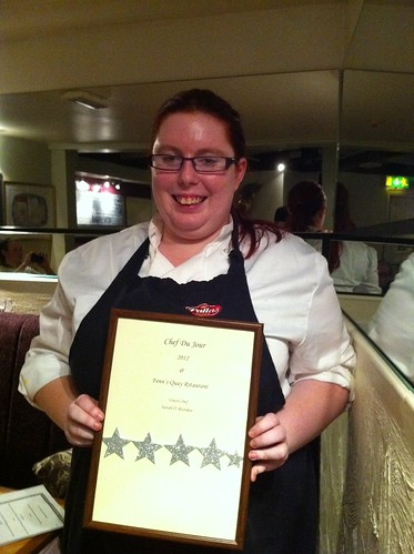 Sarah Riordan is Chef du Jour at Fenns Quay