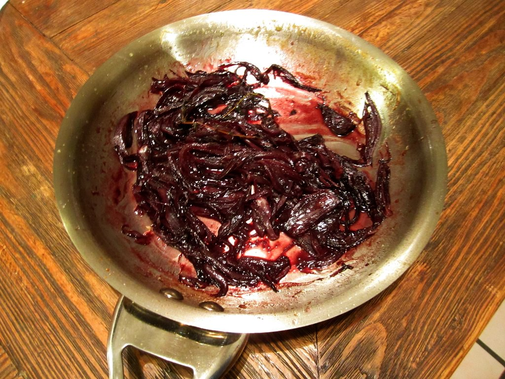Red Wine Onion Confit 4-1