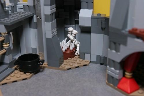 LEGO Monster Fighters 9467 9468 Vampire Castle