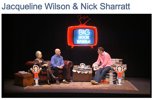 Big Book Babble with Jacqueline Wilson ans Nick Sharratt