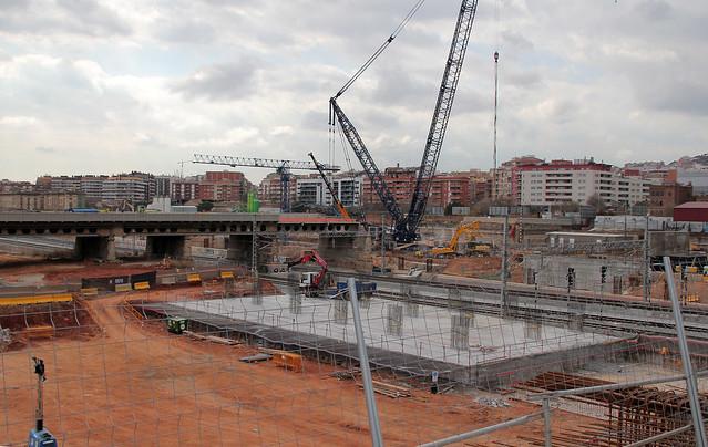 Desmontaje Pont del Treball - Nueva grúa - 17-02-12