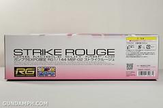 RG 1-144 Strike Rouge Gundam Plamodel EXPO Limited Version Unboxing Photos (4)