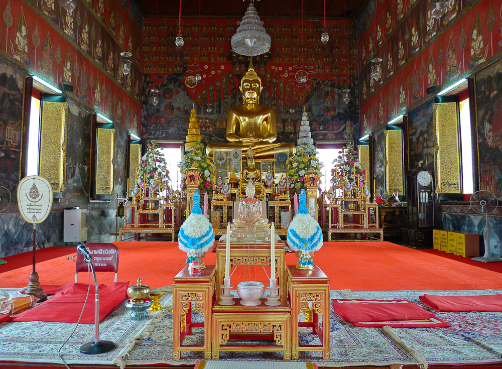 Bangkok Sitting Buddha