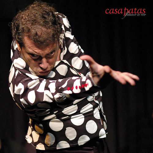 El bailaor Juan Amaya. Foto: Martín Guerero