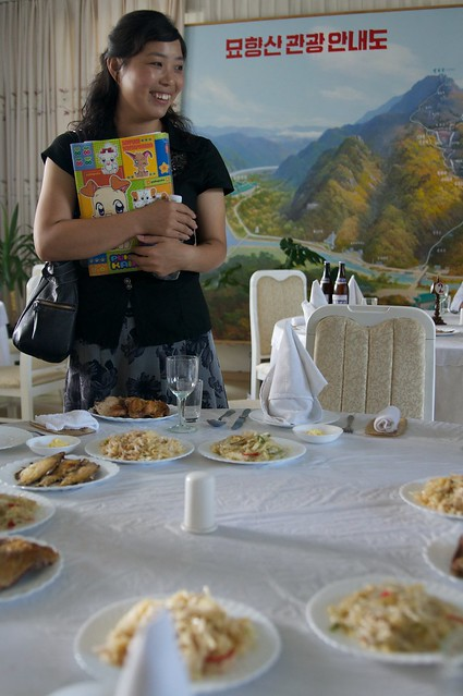 Mt. Myohyang Hotel Lunch