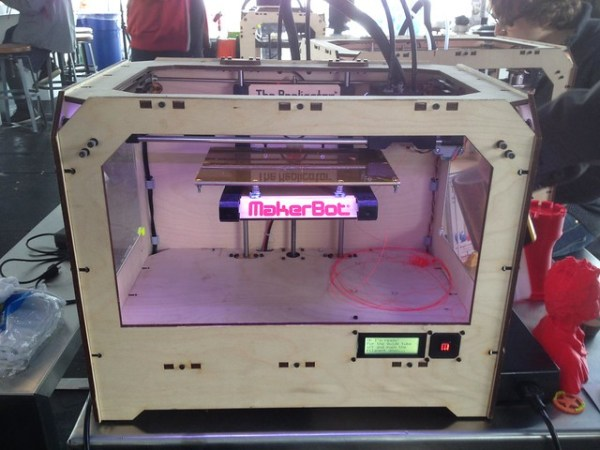 First @makerbot sighting at SXSW