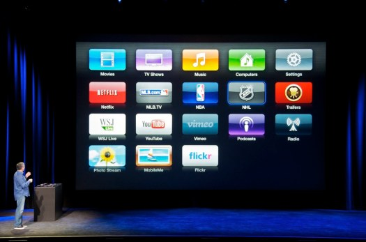 New Apple TV w/Flickr