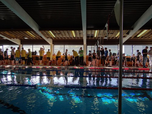 Swim meet in Vági today