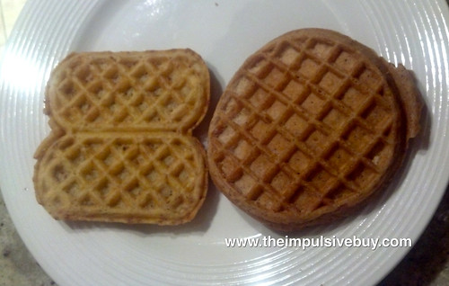 Kellogg's Eggo Brown Sugar Cinnamon Roll Wafflers Difference