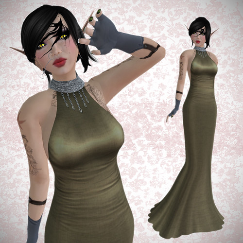 Rebel's Lalani mesh dress
