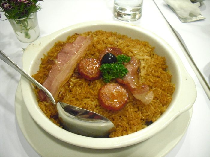 Duck baked rice