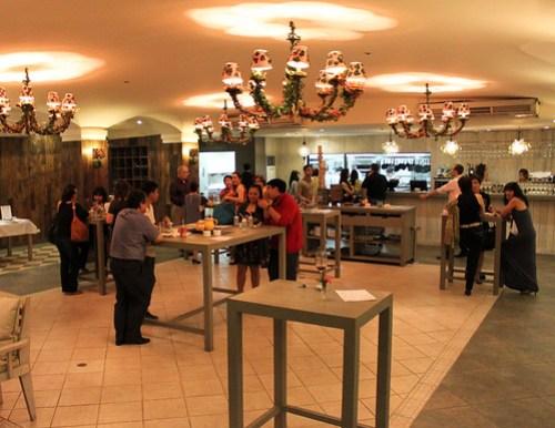 Inside Brasserie Cicou