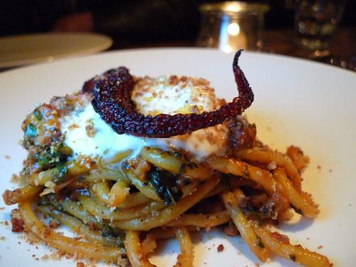 Octopus & Burrata Pasta, Sotto