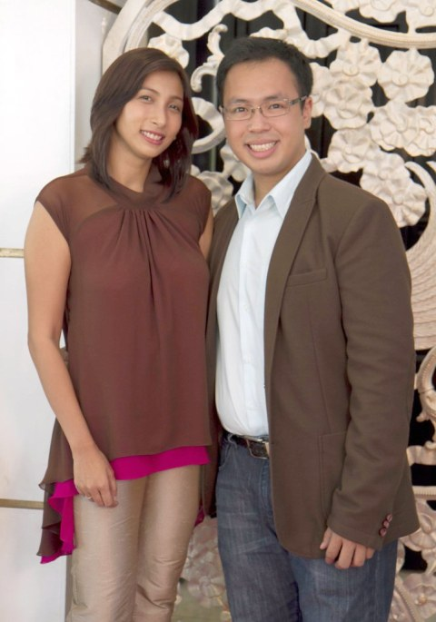 Unilever PR & Events Manager Nikki Abella, Magnum Assistant Brand Manager Brian Chanyungco