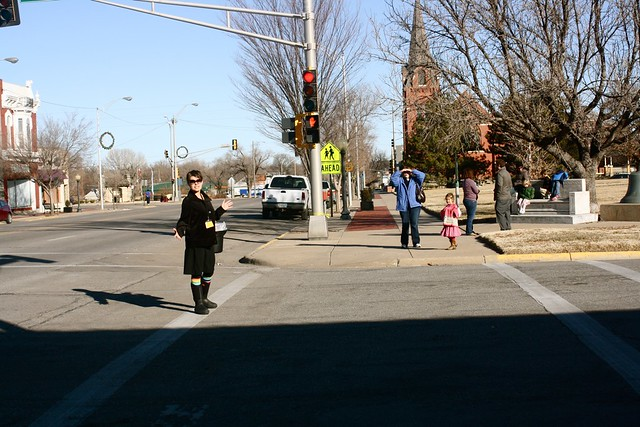 downtown newton field trip!