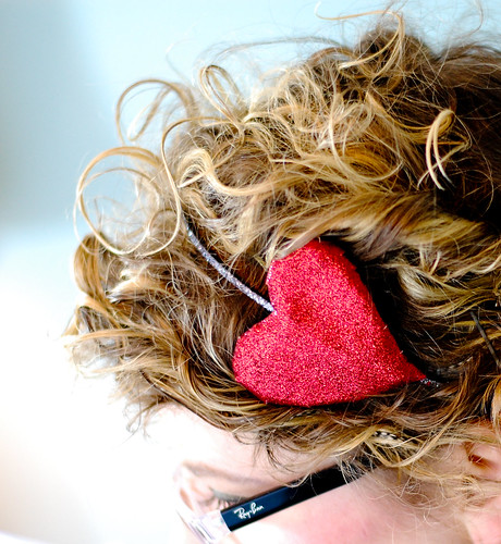 DIY Heart Headband
