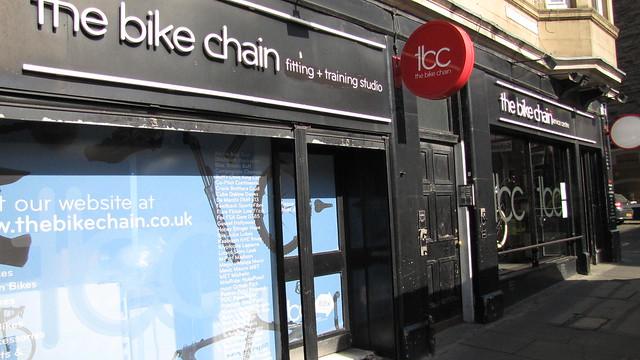the bike chain