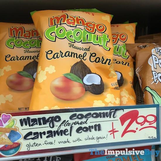 Trader Joe's Mango Coconut Caramel Corn