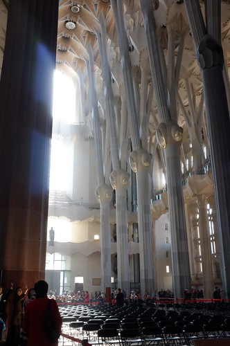 visiting La Sagrada Família