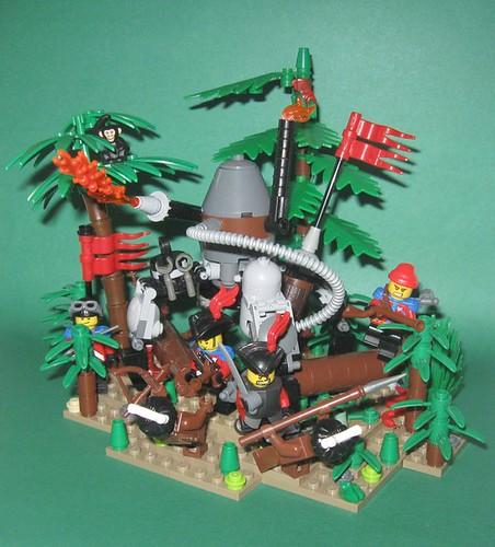 Bitwa w dżungli by BardJaskier