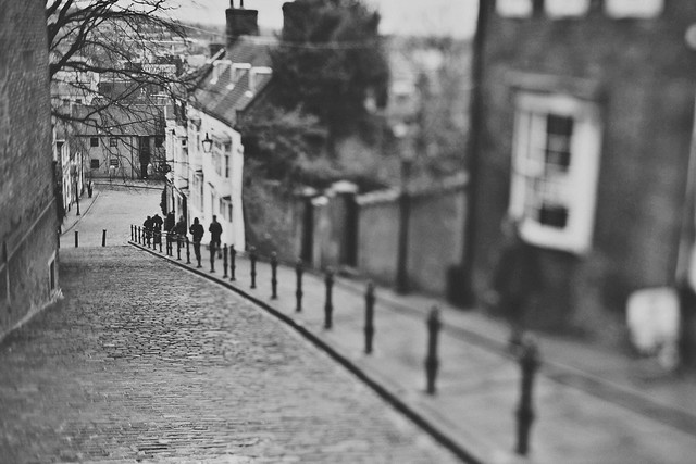 29/30 - Here's one for all you lincoln steep hill winner of street of the year 2011 lovers (30 days of tilt shift)