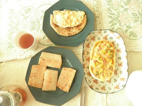 早餐_蘿蔔糕等