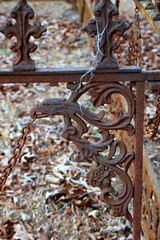 Cemetery Fence Detail