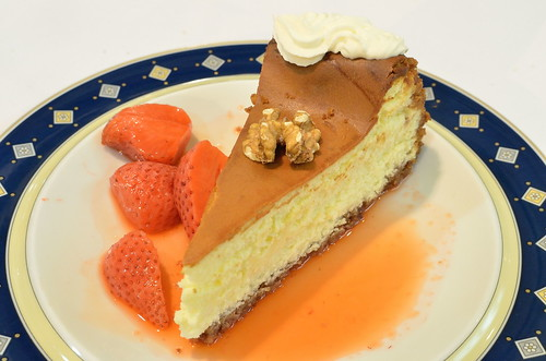 Walnut crusted Cheesecake